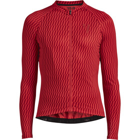 VOID Maillot Manga Larga Hombre, red